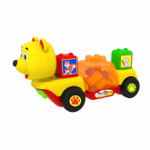 Little Bear plays music and contain building block toys | M1677-BB56-2I